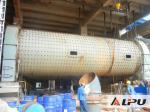 Moinho de bola horizontal do cimento alto da eficiência de funcionamento, moinho de Rod do material de construção