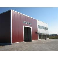Prefabricated Steel Structure Construction Galvanized Pulin Building with Glass Wool Panel