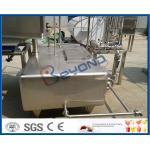 Depósito de leche inoxidable de SUS304 SUS316L, el tanque modificado para requisitos particulares de la máquina de la pasterización de la leche
