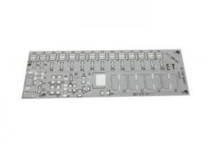China High Current LED Printed Circuit Board ,  LED Aluminium White Thin PCB Board on sale