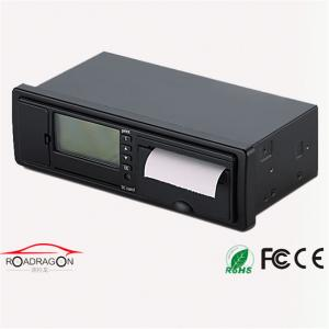 China GH Fleet Management Intergrated GSM GPRS GPS Digital Tachograph G-V301 With Voice Recorder on sale