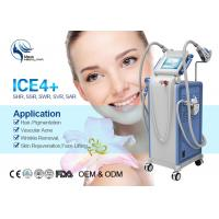 Vertical E-Light IPL RF SHR Hair Removal Equipment With Cooling Plus System