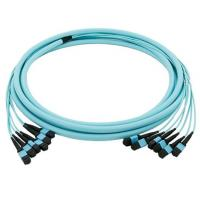 MPO MTP Trunk Optical Patch Cord 8 12 24 Fibers OM3 3M For Data Center Fiber Cabling