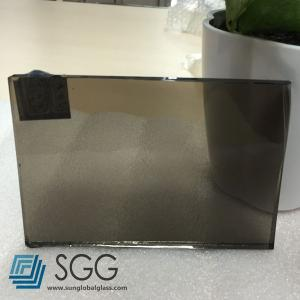 China 4mm Euro Bronze tinted float glass on sale