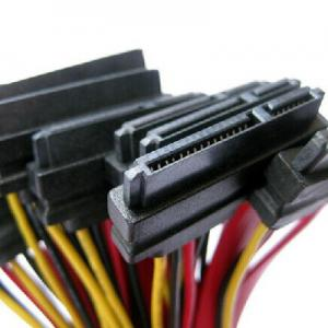 China Internal Crossover 7+15pin SATA Cables Sata Data Cable on sale