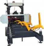 Woodworking Machinery Horizontal Portable Sawmill with Hydraulic Log Loading Arm