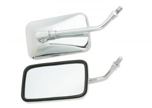 China RC150 GT Motorcycle Rear View Mirrors Anti Abrasion With Silver Color Shell on sale