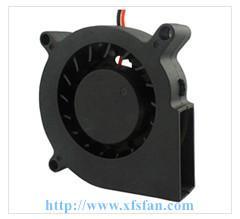 China 60*60*15mm 5V/12V DC Blower DC Black Plastic Brushless Cooling Fan Blower 6015 on sale