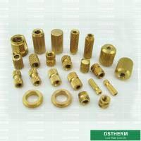 China PVC Box PVC Fittings Brass Inserts Brass Color Female Brass Inserts  Customized Designs on sale
