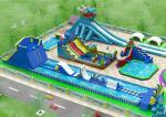Waterproof PVC Inflatable Water Park For Entertaint EN14960 / BV / CCC