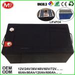 LiFePO4 Battery For Solar Power Energy/UPS/EV/Inverter/Backup Power 12V 100Ah/200Ah