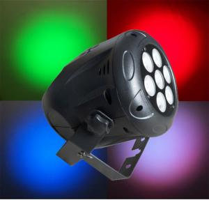 China High Quality LED Par Can Lights 7 x 9w Mini Par Cans RGB Stage Lighting Super Bright for Concert Holiday on sale
