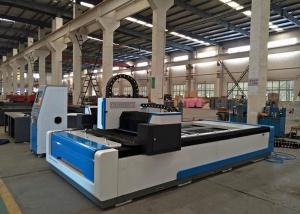 China 1500W Fiber CNC Laser Cutting Machine 1500 X 3000mm for Various Metals on sale