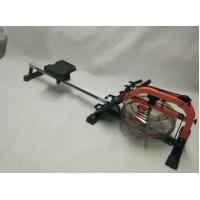 China OEM Indoor Gym Fitness Equipment Mental Water Rower Rowing Machine with Monitor on sale
