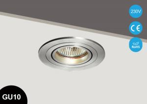 China Round GU10 Recessed Halogen Downlight Recessed Ceiling LED GU10 LED Down Lighting on sale