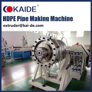China High Speed HDPE Pipe Production Line/HDPE pipe macing machine on sale