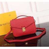 High Quality Louis Vutton, Replica LV Red Monogram Empreinte Leather ladies Bag