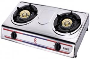 China Stainless Steel Table Top Gas Stove FJ-206B with Brass Cap on sale