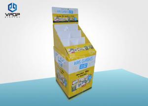 China Eye - Catching Cardboard Dump Bins , Grocery Drinks Paper Dump Bin Display on sale