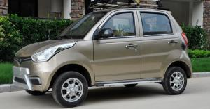 China 5 Seats 96V 10kw High Powered Electric Car With And 300 Times Battery Life on sale