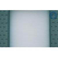 Beige Fold Insulated Garage Doors Horizontal Single Layer Steel