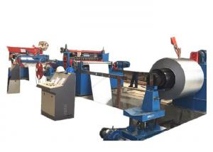 China Stainless Steel Cut To Length Line Machine / Strap Coil Steel Coil Slitting Line on sale
