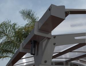 Superbe Quality DIY Polycarbonate Aluminum Patio Awnings / Carport / Gazebo With UV  Resistant For Sale ...