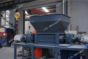 industria plastic shell shredder/ scrap metal shredder Wood