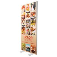Single Sided SEG Fabric Frames Advertising Light Box 85 * 200 Cm Graphic Size