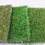 Removable Recycled Artificial Grass Carpet Green Color Easy Installation Cesped