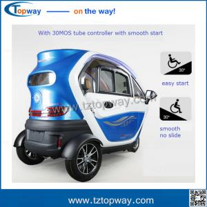 China battery operated electric tricycle passenger scooter city 3 Wheel closed Handicapped on sale