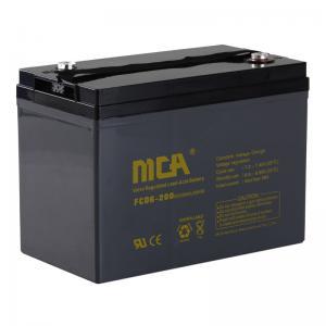 China Deep cycle AGM batteries 6V-200AH on sale
