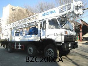 China BZC200 truck mounted drilling rig for sale leading manufacturer in Chin on sale