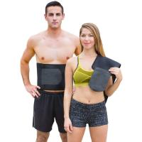 China Waist Trimmer Weight Loss Ab Belt - Premium Stomach Wrap and Waist Trainer on sale
