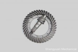 China Steel Module Spur Wheel Precision Gears , Worm Gear by Whirlwind Milling on sale