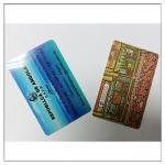 Impresión plástica de la tarjeta del miembro del pvc del negocio, impresión plástica de las tarjetas de visita del pvc
