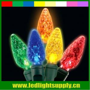 China led mini colorful strawberry string light with battery power on sale