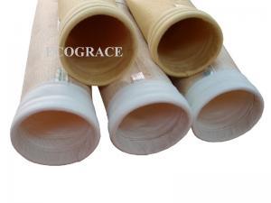 China Flame Resistant Nomex Needled Felt Bag Filter For Cement Bag Filter applied in Asphalt mixing plant on sale