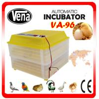 Good price automatic incubator hatcher 96 egg chicken egg incubator for sale VA-96