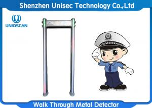 China Outdoor Door Frame Metal Detector 6/12/18 Zones For Security Inspection on sale
