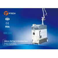 Medical Grade Q Switched ND YAG Laser Machine For Speckles Treatment Pain Free
