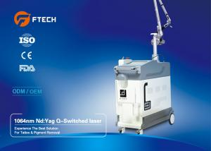 China Medical Grade Q Switched ND YAG Laser Machine For Speckles Treatment Pain Free on sale