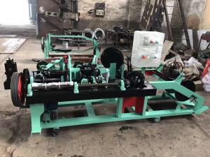 China High Efficiency Fully Automatic Barbed Wire Machine For Railway / Highway on sale