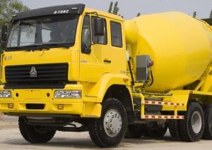 China Safe Concrete Mixing Equipment / Concrete Cement Mixer 371HP Horsepower on sale