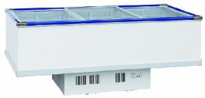 China Electrical Commercial Display Fridges , Stainless Chest Freezer 1035L Capacity on sale