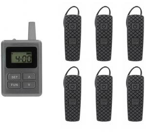 China E8 Ear - Hanging Wireless Horse Instruction System Tour Guide System With Transmitter And Receiver on sale