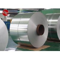 Big Spangle Passivated Cold Rolled Galvanized Steel Width 30mm - 1500mm