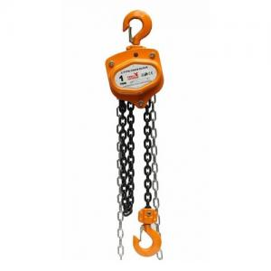China Chain hoist,chain block in vital yellow color with electric chain block hoist on sale