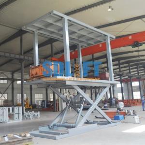 6T 3M 2 Level Hydraulic Garage Parking Car Lift Mechanical