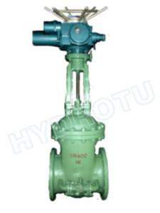 China DN500mm Flanged Gate Valve With Manual / Electric Control Valve on sale
